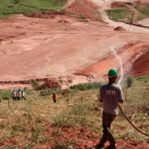 Irrigação de Vegetação Replantada